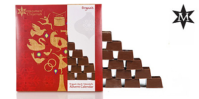 chocolate calendar from Montezuma´s