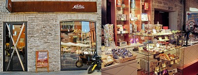 Kalev Chocolate Shop in Rotermann Quarter
