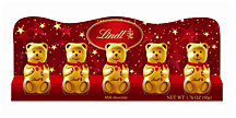 The Lindt Mini Bear Five Pack